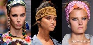 Saçlarda Bant Aksesuar Trendi