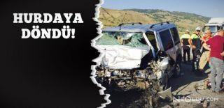 Erzincan'da Feci Kaza: 4 Ölü, 5 Yaralı