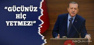 Erdoğan'ın Almanya'ya Sert Cevabı