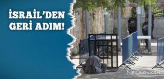 Mescid-i Aksa'da Metal Dedektör Kalkıyor