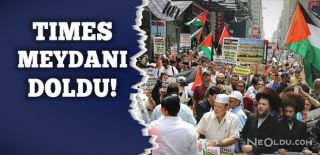 ABD'de Mescid-i Aksa İçin Protesto Düzenlendi