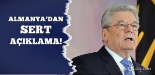 Alman Cumhurbaşkanı'ndan Skandal Açıklama!