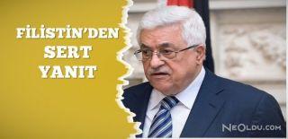 Filistin'den İsrail'e Sert Mescid-i Aksa Yanıtı