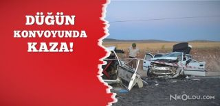 Düğün Konvoyu Kaza Yaptı: 3 Ölü, 3 Yaralı