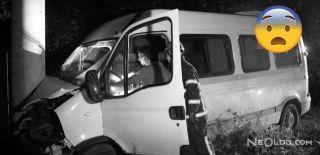 Piknik Dönüşü Minibüs Kaza Yaptı: 15 Yaralı