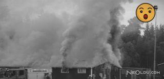 Mülteci Binasında Korkutan Yangın!