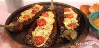 Tulum Peynirli Patlıcan Tarifi