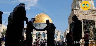 Mescid-i Aksa'da Filistinlilere Müdahale!