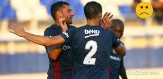 Beşiktaş, Las Palmas'a 4-1 Mağlup Oldu