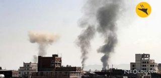Koalisyon Güçlerinden Yemen'e Hava Saldırısı