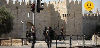İsrail Güçleri Mescid-i Aksa'yı Yine Yasakladı!