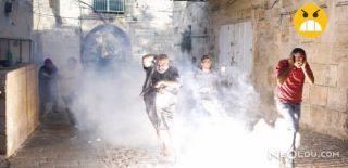 İsrail Filistin'e Saldırıyor! İşte İlk Kareler