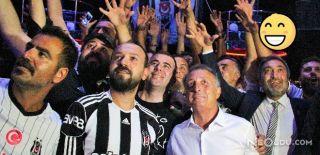 Beşiktaşlı Aşıklara Ahmet Nur Çebi Sürprizi