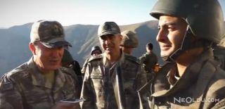 Hulusi Akar'dan Nöbetteki Askere Telefon Sürprizi