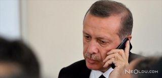 Cumhurbaşkanı Erdoğan, Büyükerşen'i Aradı