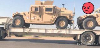 ABD'den PYD'ye 900 TIR Silah
