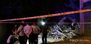 Diyarbakır'da 4 Katlı Bir Apartman Çöktü