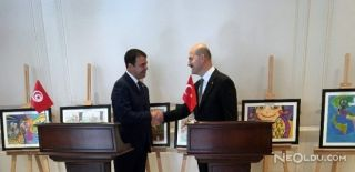 Bakan Soylu, Tunuslu Mevkidaşı ile Görüştü