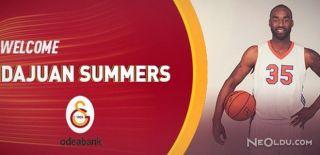 DaJuan Summers Galatasaray Odeabank'ta