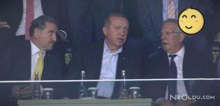 Fenerbahçe-Sturm Graz Karşılaşmasını İzledi!
