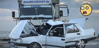 Konya'da Kaza Geçiren Gençten İlginç Sorular