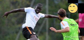 Ndiaye, Galatasaray ile İlk Antrenmanına Çıktı