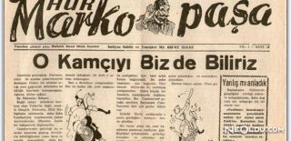Bir Mizah Dergisi Marko Paşa