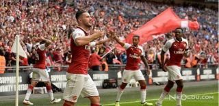 Communitiy Shield Şampiyonu Arsenal