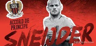 Sneijder Nice ile Anlaştı
