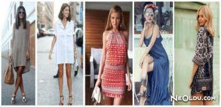 2015 İlkbahar Yaz Elbise Trendleri