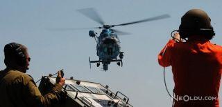İsrail Hava Kuvvetlerine Ait Helikopter Düştü
