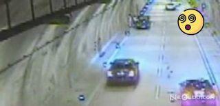 Sarıyer Tüneli'nde Akılalmaz Kaza