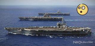 ABD Savaş Gemisi Çin Denizi'ne Girdi!