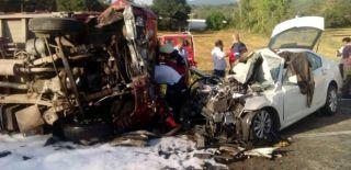 Sakarya'da Feci Kaza! 1 Kişi Öldü!