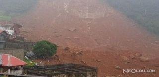 Sierra Leone'de Toprak Kayması: 200 Kişi...