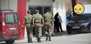 Sivas'ta Askerler Hastanelik Oldu