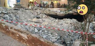Urfa'da Tünel Çöktü!