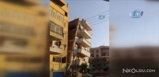 5 Katlı Binanın Yıkılma Anı Kamerada