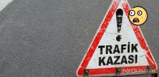 Düzce'de İşçileri Taşıyan Traktör Devrildi