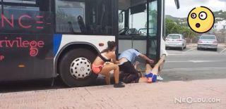 Otobüs Şoförünü Böyle Dövdüler