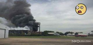Londra'da Southend Havaalanı Yakınında Patlama
