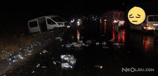 Sivas'ta Zincirleme Trafik Kazası: 2 Ölü 7 Yaralı