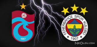 F.Bahçe Ve Trabzonspor Karşı Karşıya