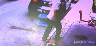 Hırsız Kameraya Yakalandı
