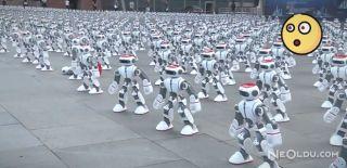 1069 Robot Dans Ederek Dünya Rekoru Kırdı