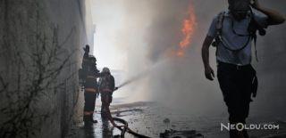 Hurda Deposunda Çıkan Yangın Herkesi Korkuttu