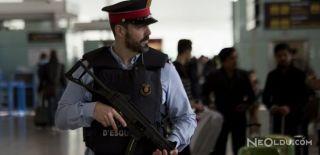Barcelona'da Bir Canlı Bomba Öldürüldü
