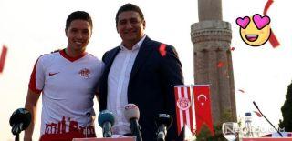 Antalya'dan Samir Nasri'ye Çok Özel İmza Töreni