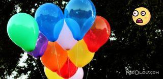 Uçan Balon Dehşet Saçtı!