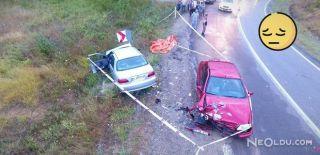 Sinop'ta İki Otomobil Çarpıştı: 1 Ölü